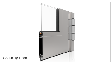 puerta practicable serie SecurityDoor