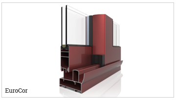 ventanas y puertas correderas perimetral, serie EuroCor