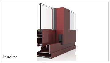 ventanas y puertas correderas perimetral, serie EuroPer