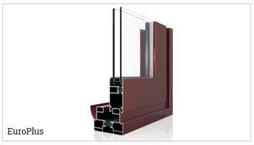 ventanas y puertas correderas perimetral con rotura de puente térmico, serie EuroPlus