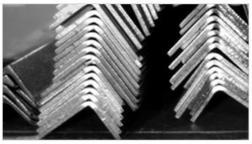 perfil en L, ángulos, de aluminio