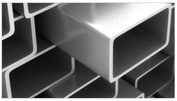 tubos rectangulares de aluminio